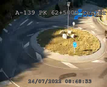 Webcam en A-139 - Cruce de Acceso