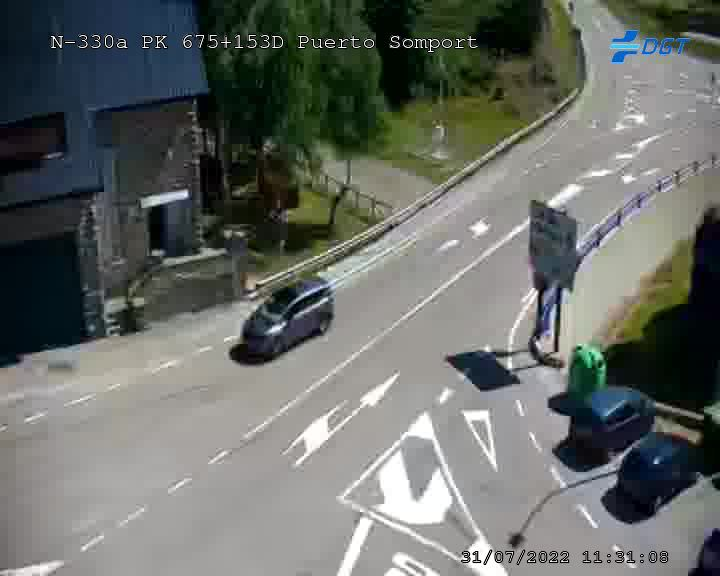 Webcam en Frontera Somport
